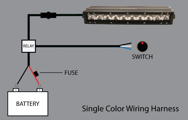 Wiring Harness Diagrams, Led Lights Wiring Diagram