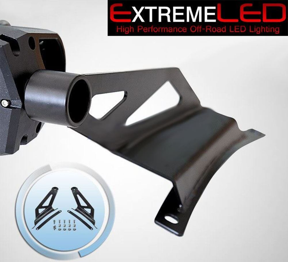 """Picture of 50"""" Curved LED Light Bar Mount for Ford F150/Raptor 09-14"""