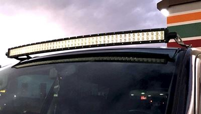"Picture of Toyota 2005-2014 Tacoma 50"" Straight LED Light Bar Packages"