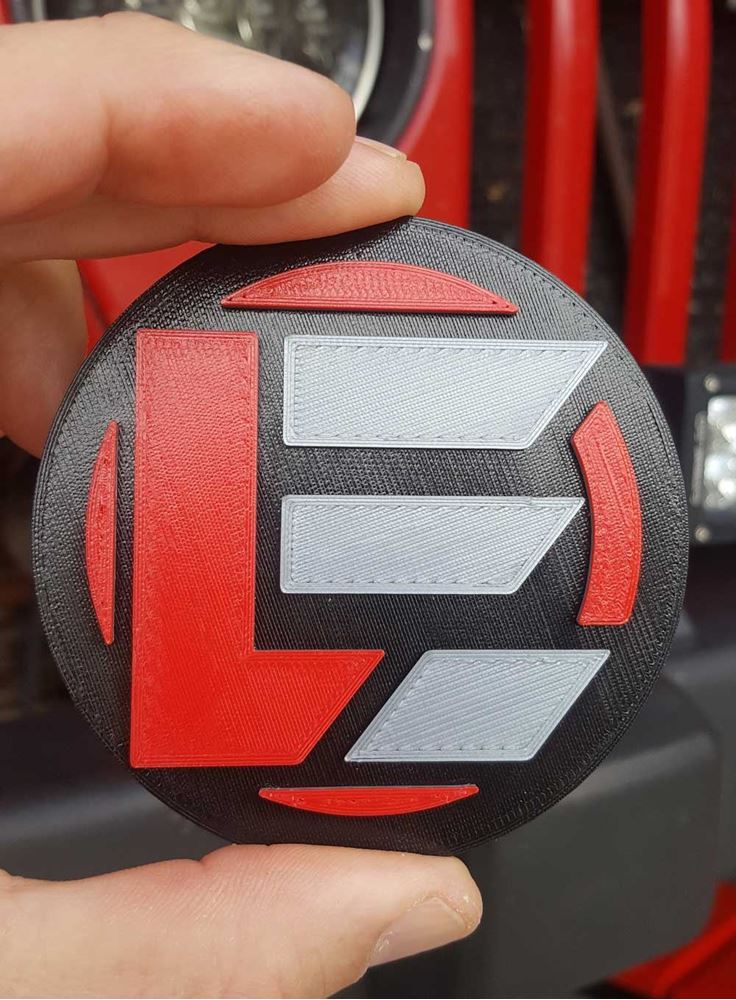 Extreme LED 3D Printed Patch