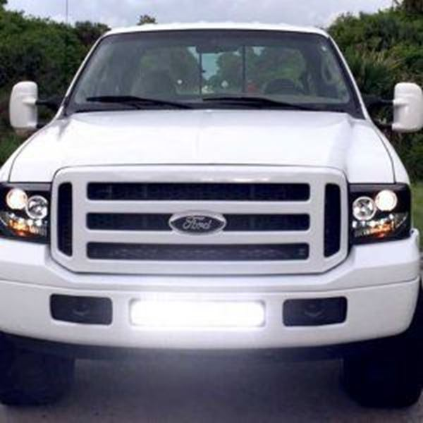 "Picture of 30"" Single Row Hidden Grille Mount for Ford F150 2009-2014"