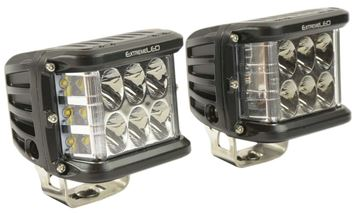 Side Shooter LED Light Pod Pair