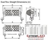 LED Light Bar Dimensions