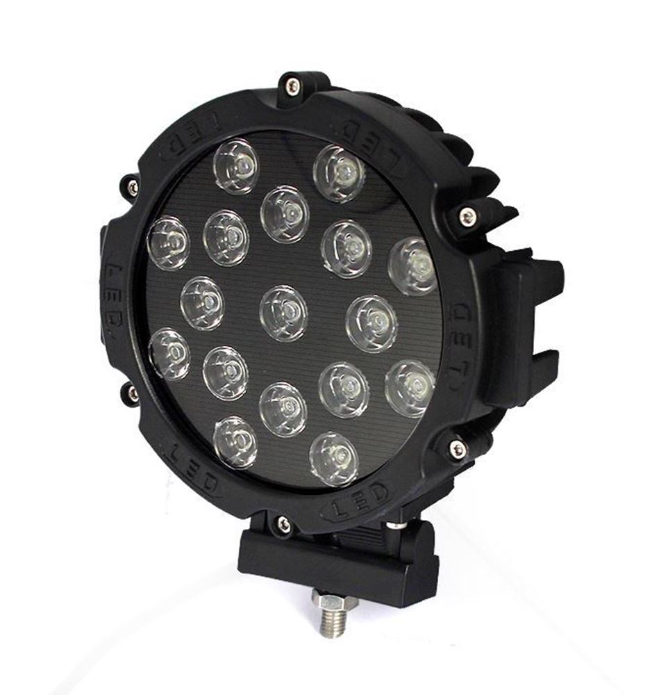 """Picture of 5"""" Round LED Rally Light"""