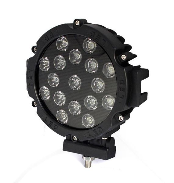 "Picture of 5"" Round LED Rally Light"
