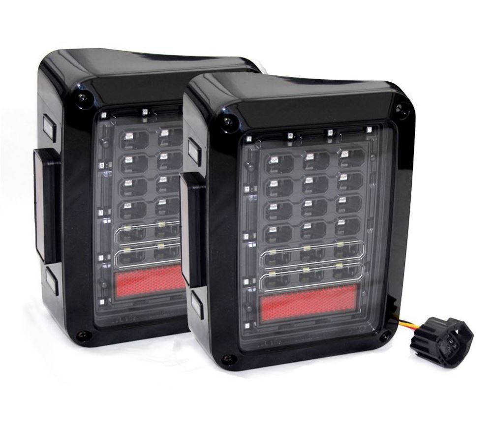 Picture of Jeep Wrangler JK LED Tail Light [Pair]