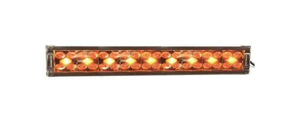 "Picture of X8 Amber and White 22"" Dual Row LED Light Bar (Combo Spot-Flood)"