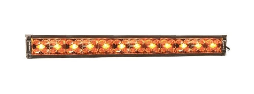 """Picture of X8 Amber and White 28"""" Dual Row LED Light Bar (Combo Spot-Flood)"""