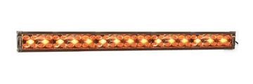 "X8 Amber and White 34"" Dual Row LED Light Bar"