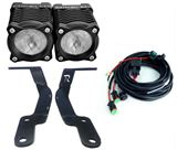 """Picture of Toyota 4Runner (2010-2019) Stackerz  2"""" LED Light with Ditch Brackets"""