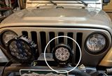 """Picture of Giro 4.75"""" Round LED Light"""
