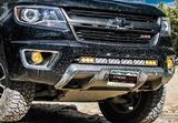 "Picture of 30"" Single Row Hidden Bumper Mount for Chevy/GMC 2015-2018"
