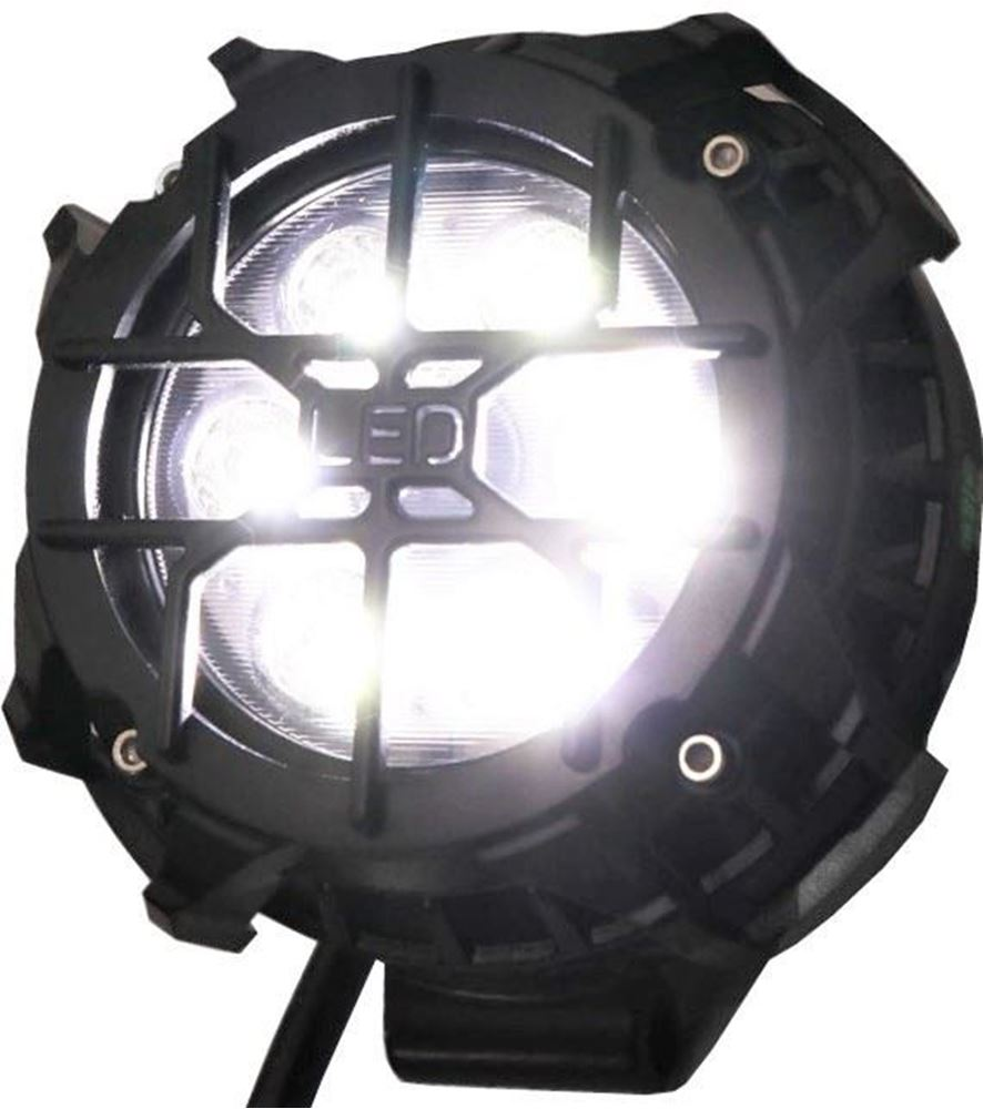 """Picture of Pro Series 3"""" Round Pod Light with Cover"""