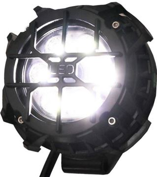 "Picture of Pro Series 3"" Round Pod Light with Cover"