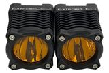 "Extreme Stackerz - 2"" Spot Beam - Amber Pods (Pair)"