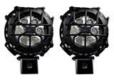 "Pro Series 3"" Round Pod Light with Cover (Pair)"